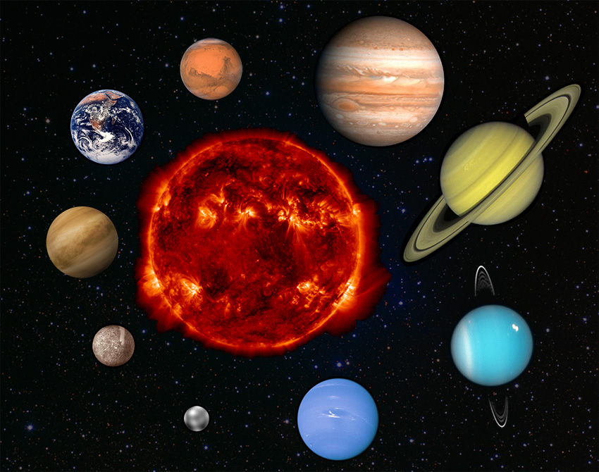 OSSE : Our Planet in the Solar System