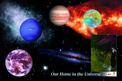 Our Home in the Universe Poster